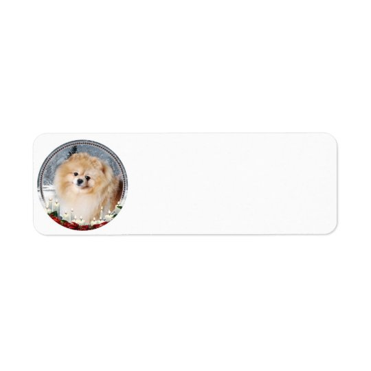Pomeranian Return Address Labels
