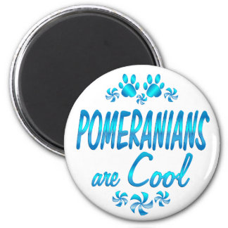 Pomeranians are Cool Magnet