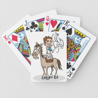 Pommel Horse Gymnastics Playing Cards