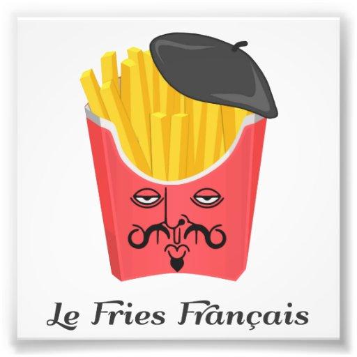 Pommes frites de le de France Impression Photographique