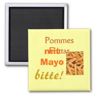 Pommes Frittas Magnet