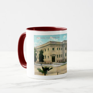 Pomona, California, First Christian Church Vintage Mug