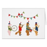 Pomp and Circumstance Animal Parade Greeting Card