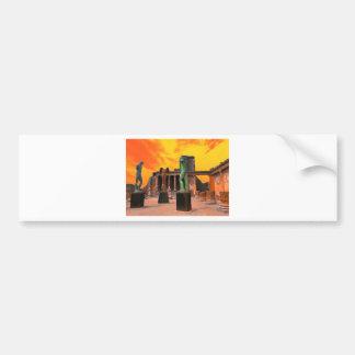 Pompei Italy Bumper Sticker