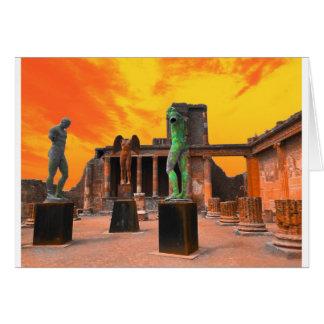 Pompei Italy Card
