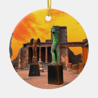 Pompei Italy Ceramic Ornament