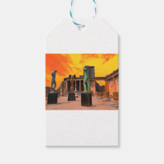 Pompei Italy Gift Tags