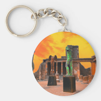 Pompei Italy Keychain