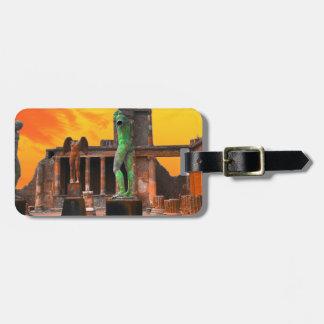 Pompei Italy Luggage Tag