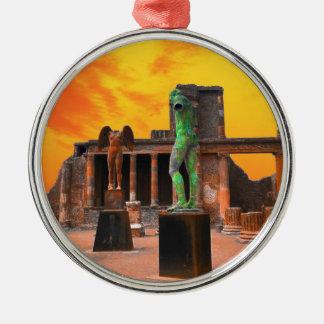 Pompei Italy Metal Ornament