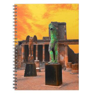 Pompei Italy Notebook
