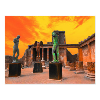 Pompei Italy Postcard