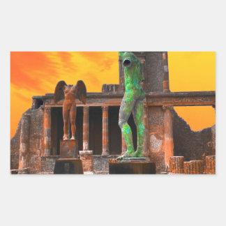 Pompei Italy Sticker