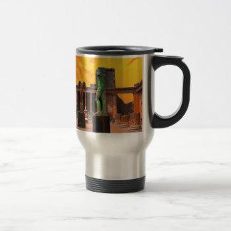 Pompei Italy Travel Mug