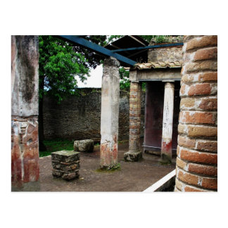 Pompei - Ruins of a Villa Postcard