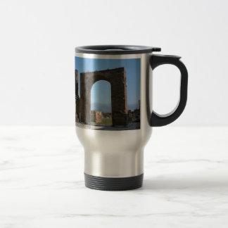 Pompeii, archaeological site travel mug
