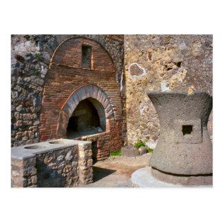Pompeii, boulangerie cartes postales