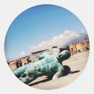 Pompeii Classic Round Sticker