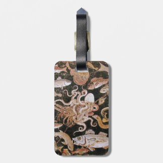 POMPEII COLLECTION / OCEAN - SEA LIFE SCENE LUGGAGE TAG