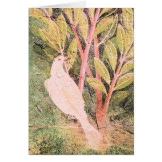 Pompeii Garden Fresco Card