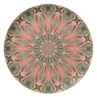 Pompeii Garden Fresco Companion Print Plates