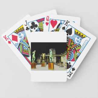 Pompeii Italy Bicycle Playing Cards