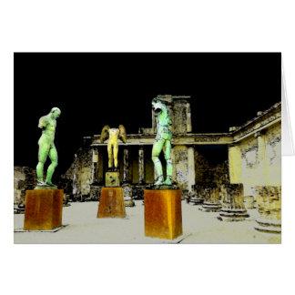 Pompeii Italy Card