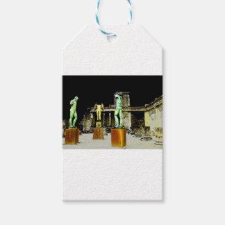 Pompeii Italy Gift Tags