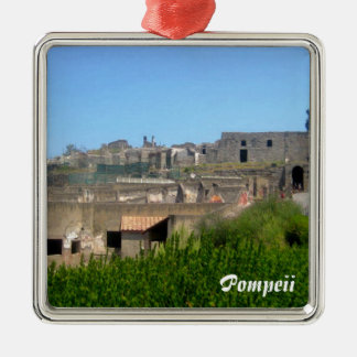 Pompeii Italy Metal Ornament