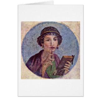 Pompeii Region Vi By Master Herkulaneischer Card