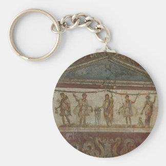Pompeii Treasures custom key chain