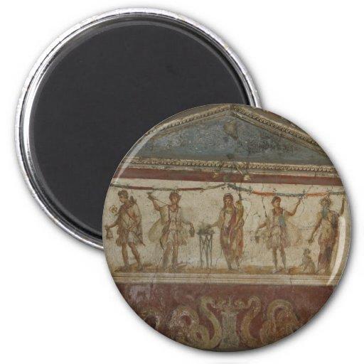 Pompeii Treasures custom magnet