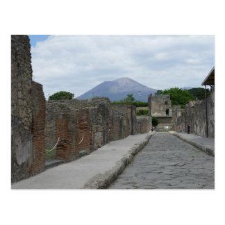 Pompeii-Vesuvius Postcard