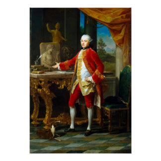 Pompeo Batoni Portrait of a Young Man Poster
