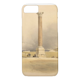 "Pompey's Pillar, Alexandria, from ""Egypt and Nubia iPhone 7 Case"