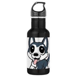 pomsky cartoon.png 532 ml water bottle