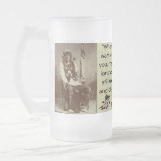 Ponca Chief White Eagle mug