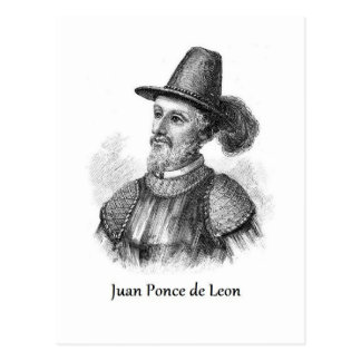 Ponce de Leon and the Fountain of Youth Post Card