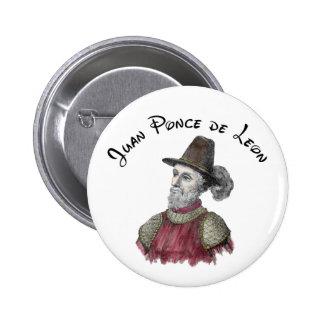 Ponce de Leon button