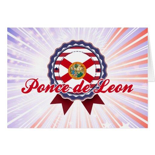 Ponce de Leon, FL Card