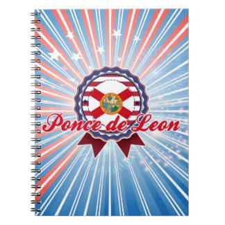 Ponce de Leon, FL Spiral Notebook