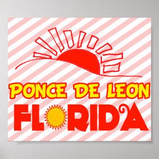 Ponce de Leon, Florida Poster