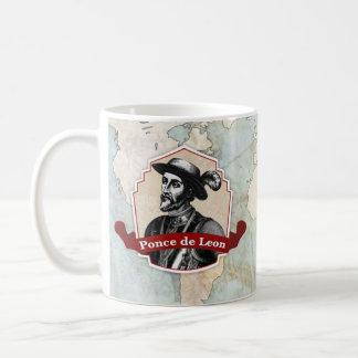 Ponce De Leon Historical Mug