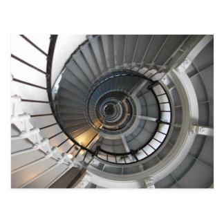 Ponce de Leon Inlet Light, Staircase, Florida Postcard