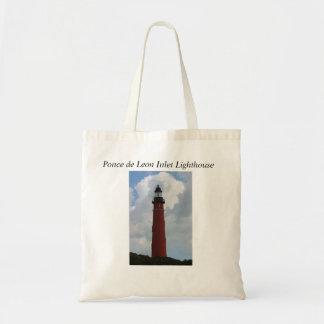 Ponce de Leon Inlet Lighthouse Canvas Bag