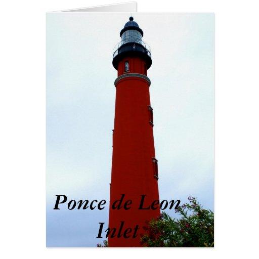 Ponce de Leon Inlet Lighthouse Cards