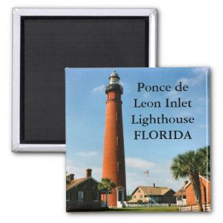 Ponce de Leon Inlet Lighthouse, Florida Magnet
