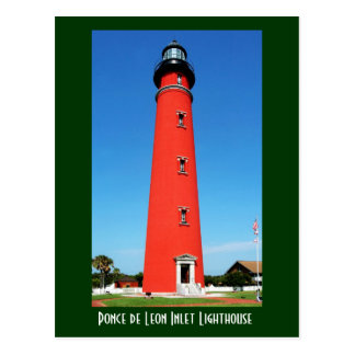 Ponce de Leon Inlet Lighthouse Postcard