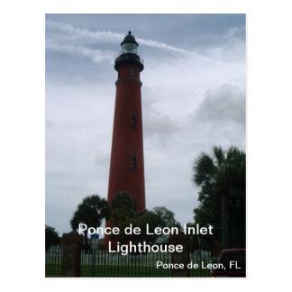 Ponce de León Inlet Lighthouse Postcard