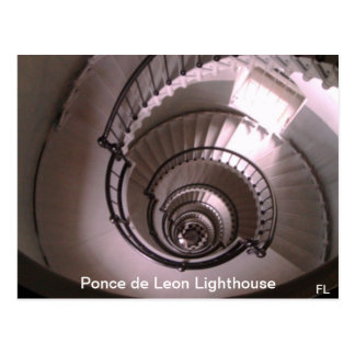 Ponce de León Inlet Lighthouse Stairwell Postcard